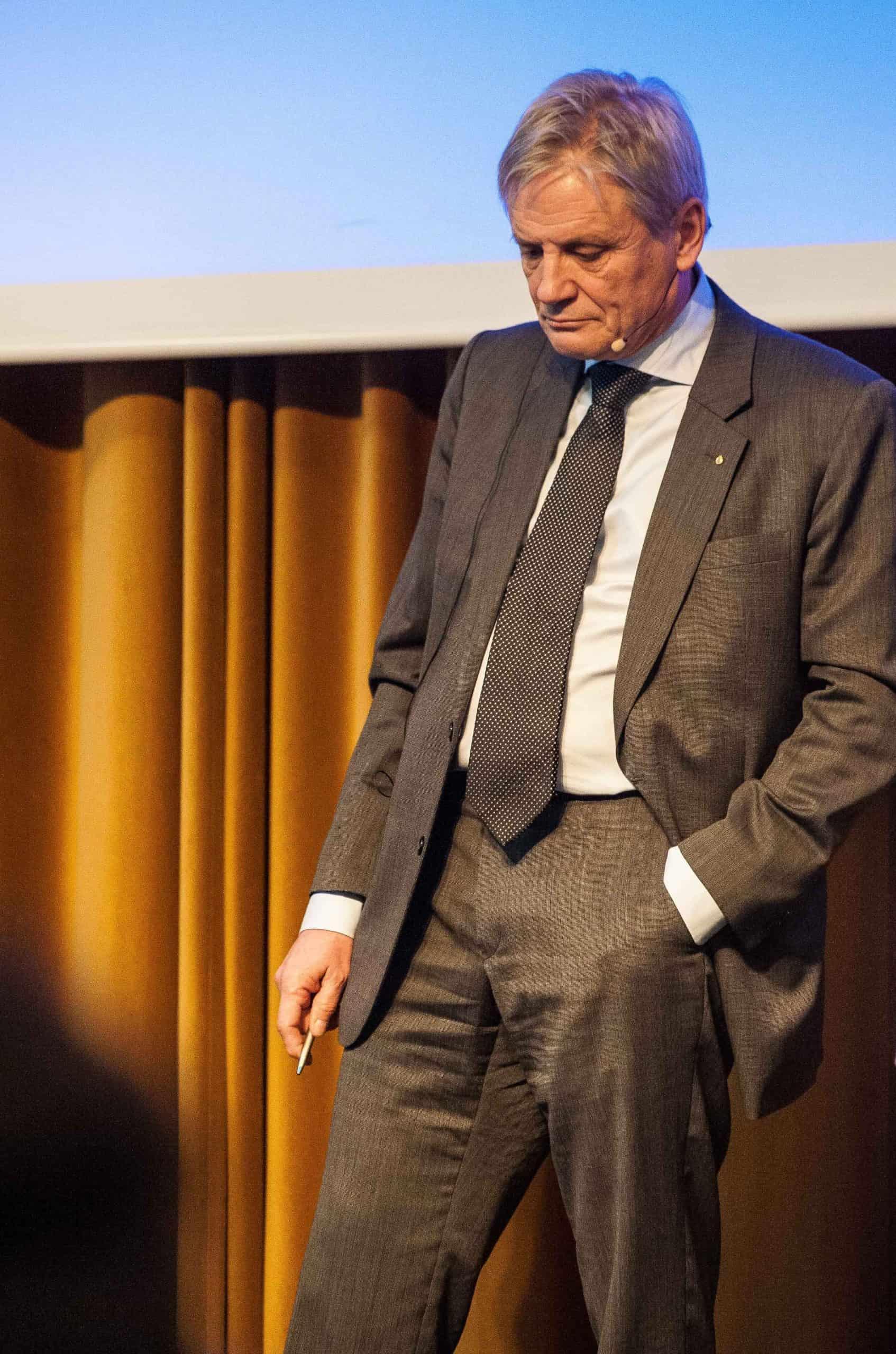 Bengt Svenson den 20 februari. Foto: Johan Svanestrand.