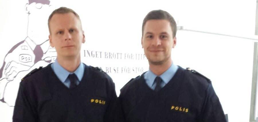 Fredrik Kaati och Thobias Rydberg
