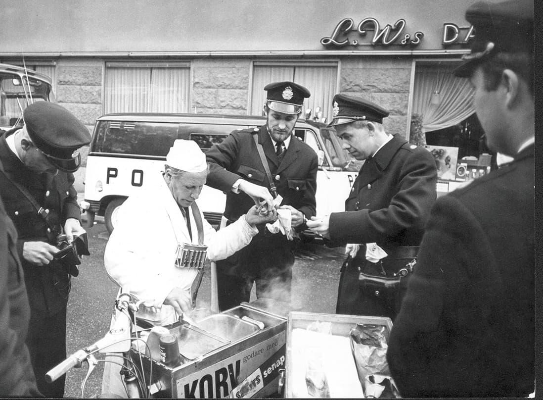 Kårhusockupationen 1968. Foto: Dex/TT