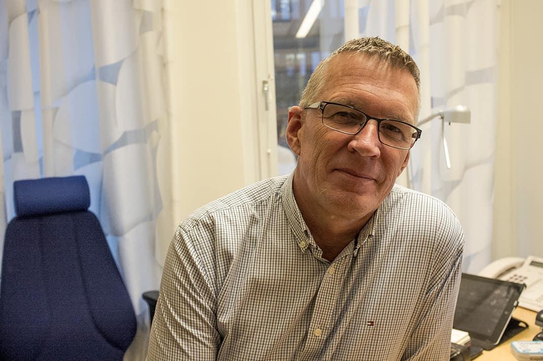 Erik Lagerholm. Foto: Johan Svanestrand