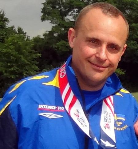 Mikael Sjöstedt vann medaljer i USA. Foto: Privat