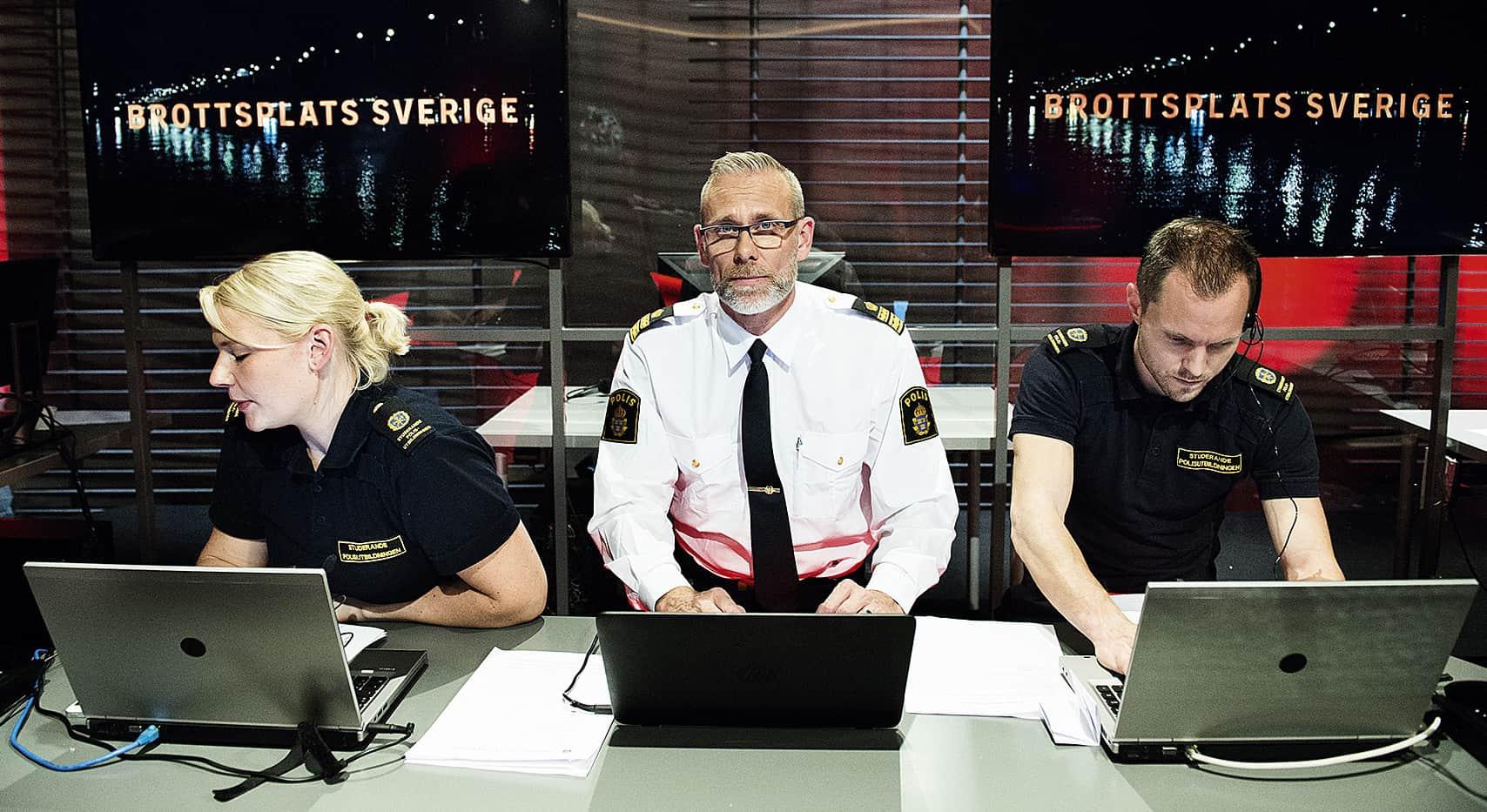 Enligt Björn Cewenhjelm är det viktigt att polisen är med i den här typen av program. Jag tror det ökar uppklkaringen och brottsoffrens möjlighet till upprättelse. Foto: Anna-Karin Nilsson