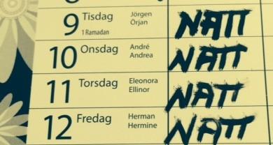 natt-almanacka