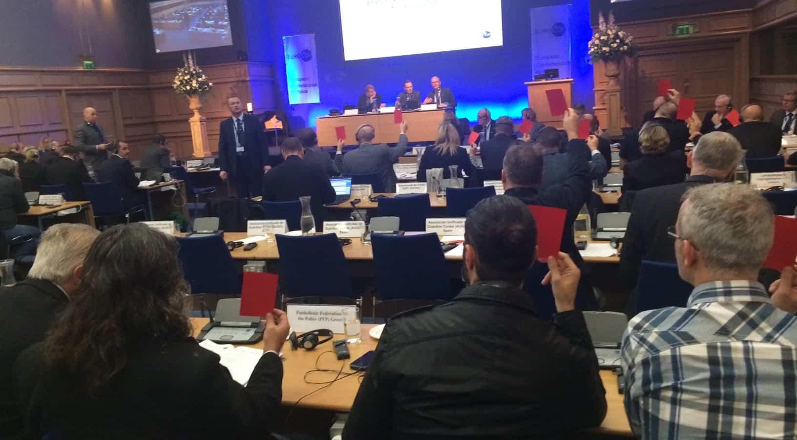 omröstning Eurocop