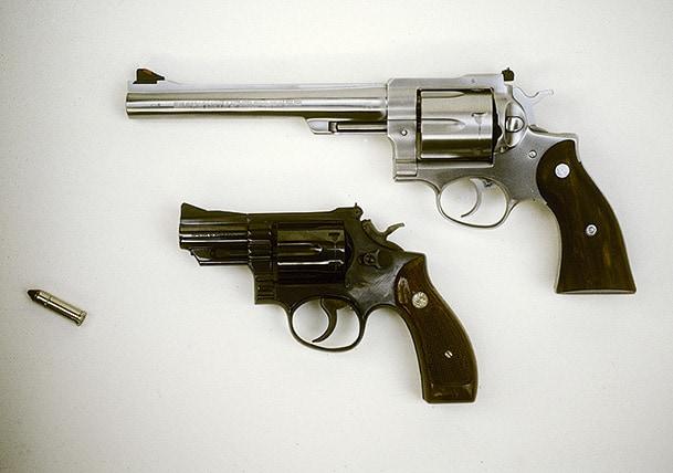 357 Magnum - vapnet som förknippas med Palmemordet.