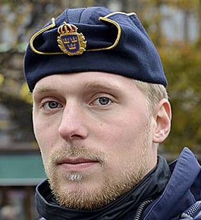Mats, polis i Kävlinge