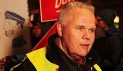 Stefan Eklund, ordförande Polisförbundet Stockholm, var i det mediala strålkastarljuset större delen av torsdagen.