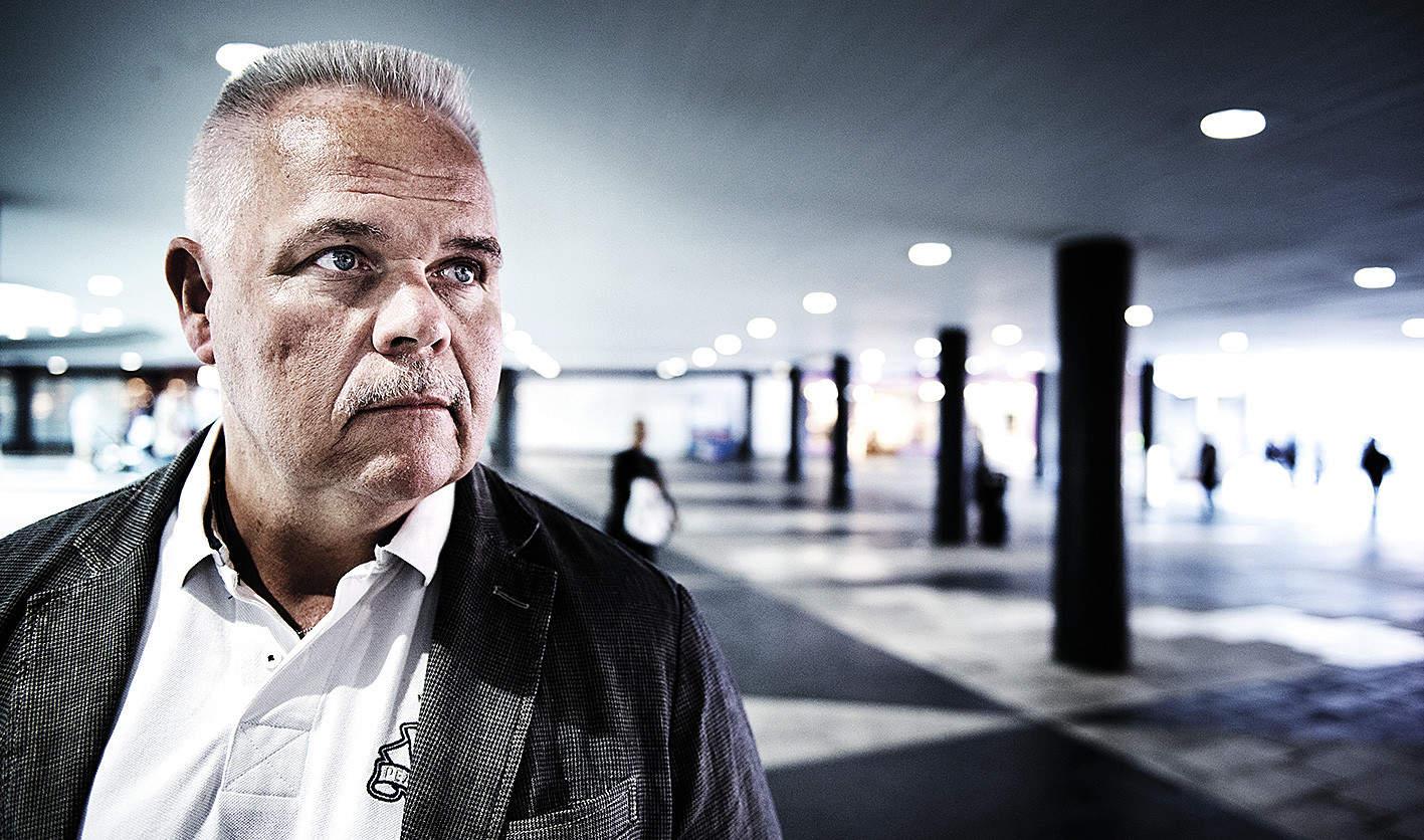 Planen för omorganisationen följs slaviskt, även när den inte passar verkligheten, wnligt Polisförbundets Stockholms ordförande Stefan Eklund. Foto: Anna-Karin Nilsson